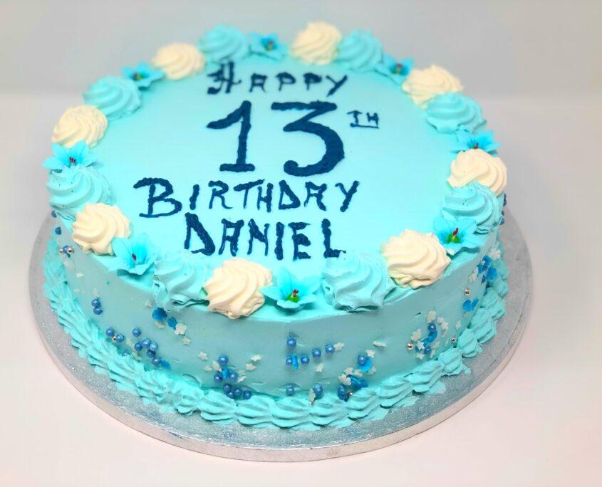 Boy Blue Birthday Cake in Winchmore Hill